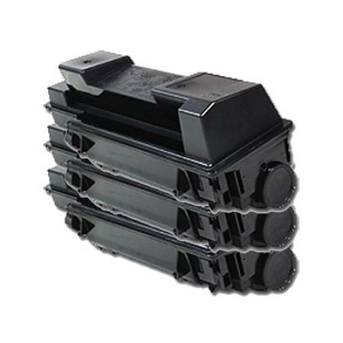 Toner-Set: 3 x schwarz, kompatibel zu Kyocera TK-350
