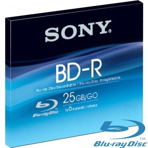 1 St. Blu-ray Rohling, Original Sony, 25GB