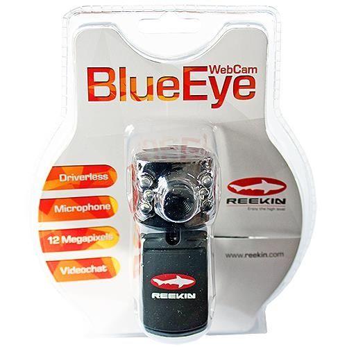 "Profi-Webcam Reekin ""BlueEye"" mit USB-Anschluß"