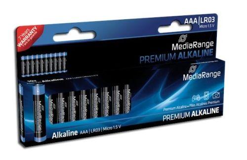 10 Micro-Batterien (AAA) Alkaline, MediaRange