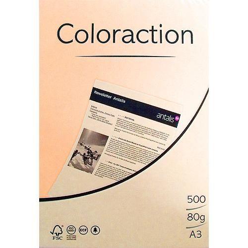 80g A3-Papier Lachs, 500 Blatt