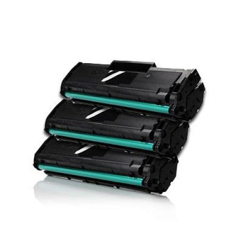 3 x Toner XXL alternativ zu Samsung MLT-D101S / ML-2165   black