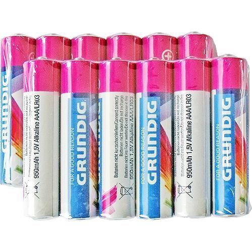 Micro-Batterien, 12 Stück, Grundig