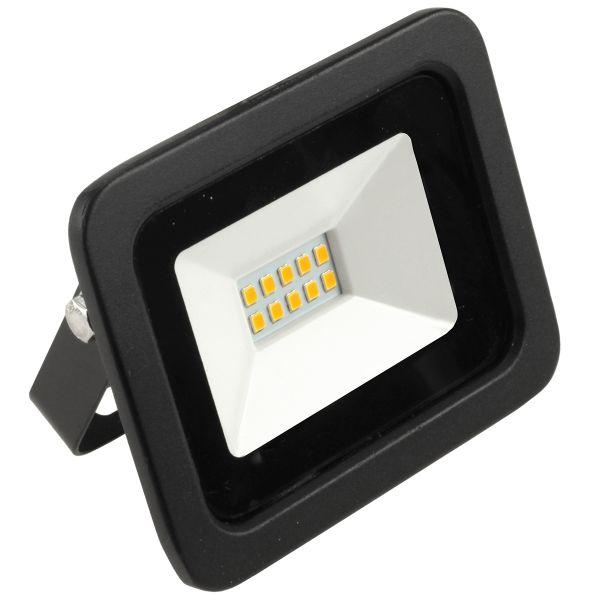 LED Fluter, 10W, 810lm, warmweiß, schwarz