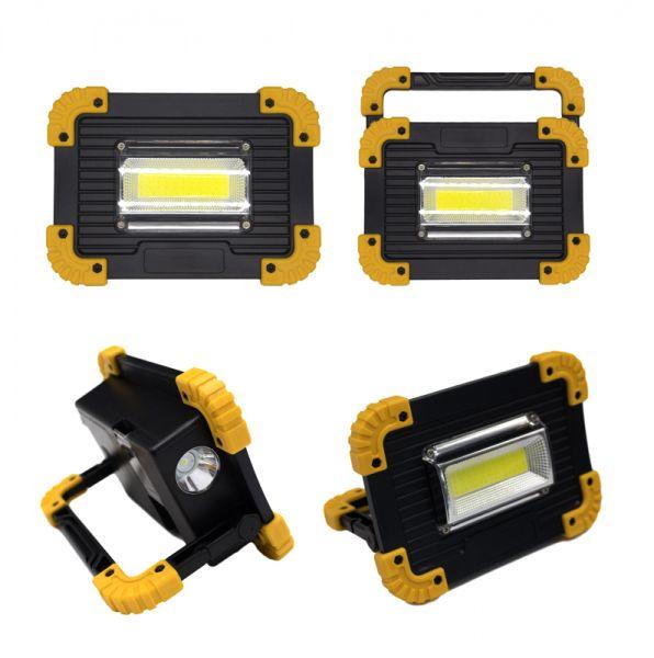 Arbeitslampe 20W COB LED mit Akku