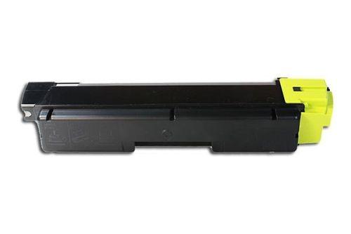 Toner KLT580Y, Rebuild für Kyocera-Drucker, ersetzt TK-580Y