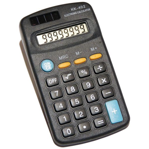 Taschenrechner Kk 402 Batteriebetrieben Gutdruckende
