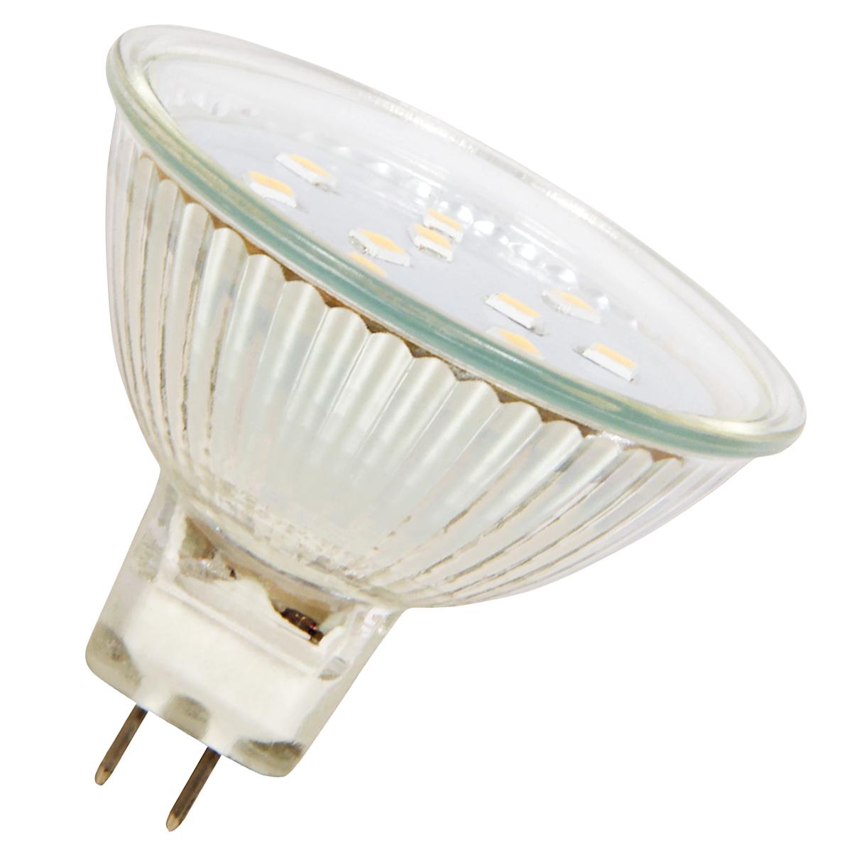 LED-Strahler MR16 / GU5.3 / 0,8W / 60lm / Kaltweiß