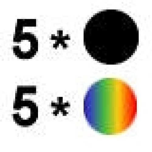 Aktion: 5 mal Farbe + 5 mal Schwarz ES0511/0520-10