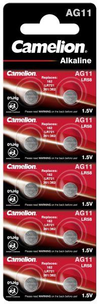 10 Knopfzellen AG11 Alkali-Mangan