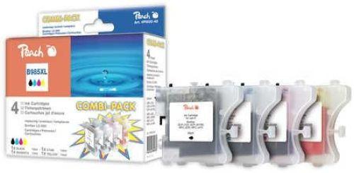 Peach Combi Pack, kompatibel zu LC-985