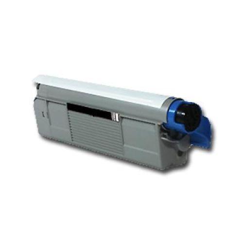 Toner OLC5800B, black, Rebuild für Oki-Drucker, ersetzt 43324424