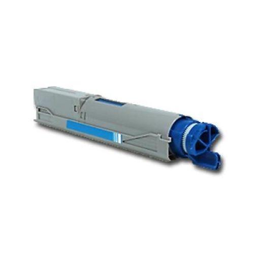Toner OLC3300C, cyan, Rebuild für Oki-Drucker, ersetzt Oki 43459