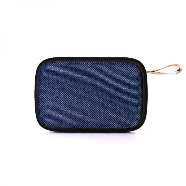 Bluetooth Lautsprecher Bighead, mobil, USB, FM, blau