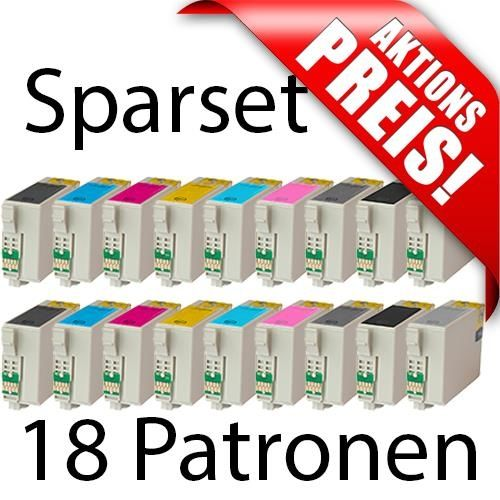 Aktion: 18 kompatible Patronen EKT157X