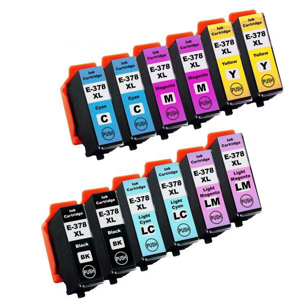 * Sparset: 12 Patronen kompatibel zu T378x / 378XL