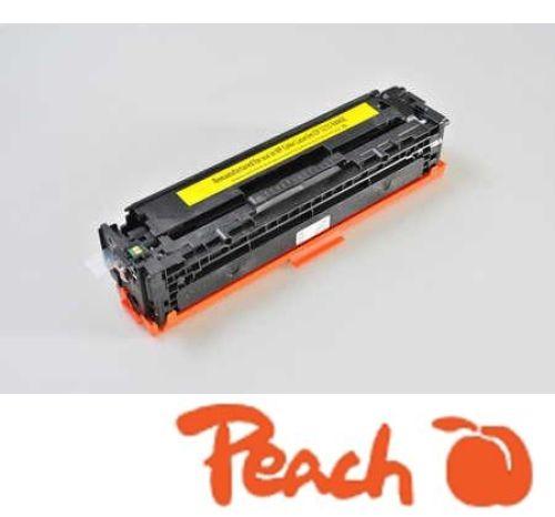 Peach Tonermodul gelb kompatibel zu CB542A