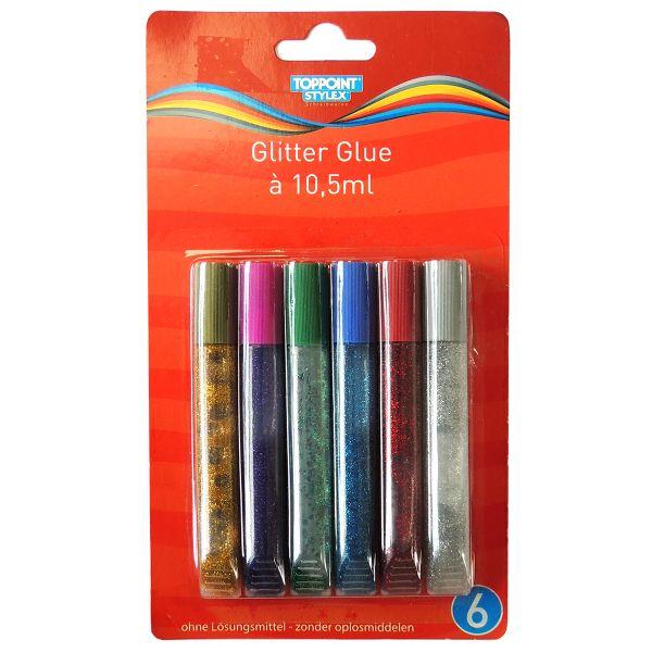GLITTER-GLUE 6er Pack