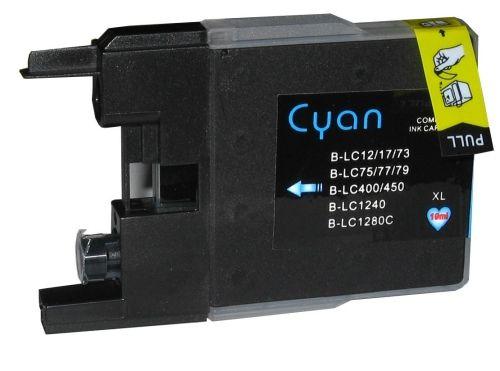 Druckpatrone für Brother, Typ BK1240C, cyan