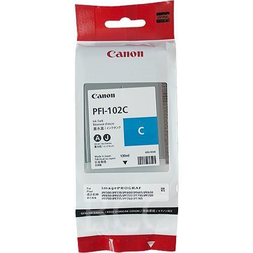 Original Canon Tintenpatrone PFI-102C