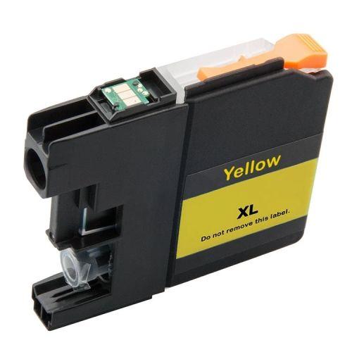 Druckerpatrone yellow mit Chip für Brother, Typ BK121Y-Chip