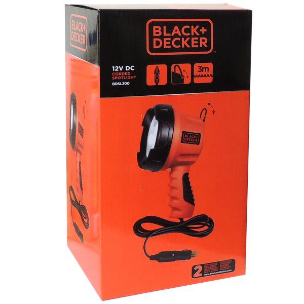 12V Handscheinwerfer Black&Decker 25W 1800lm