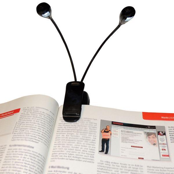 LED Leseleuchte 2-armig