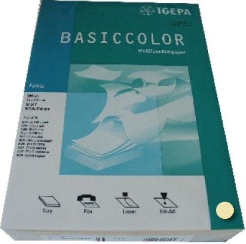 Multifunktionspapier gelb A4 80g 500 Blatt