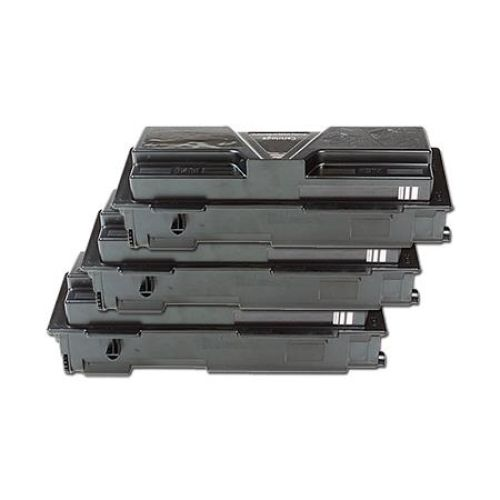 Toner-Set: 3 x schwarz, alternativ zu Kyocera TK-1130