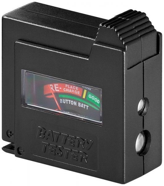Batterietester mit analoger Anzeige
