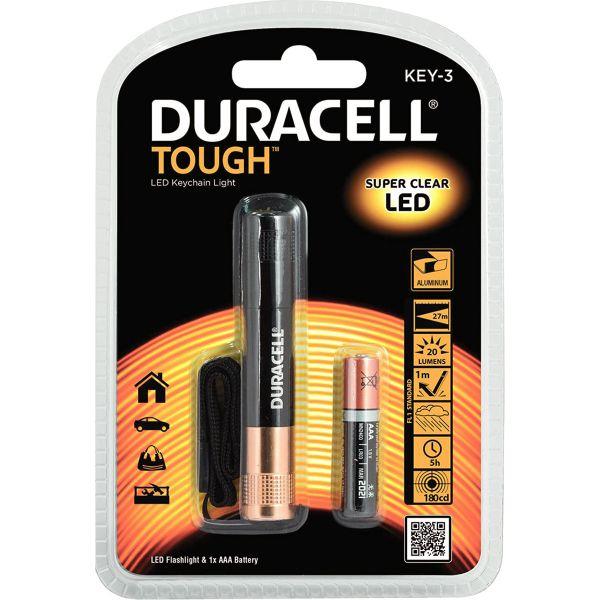 Duracell Tough Mini-Taschenlampe Key-3