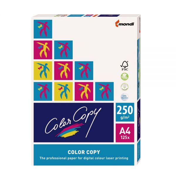 A4-Papier für Farblaserdrucker 250g/m² 125 Blatt