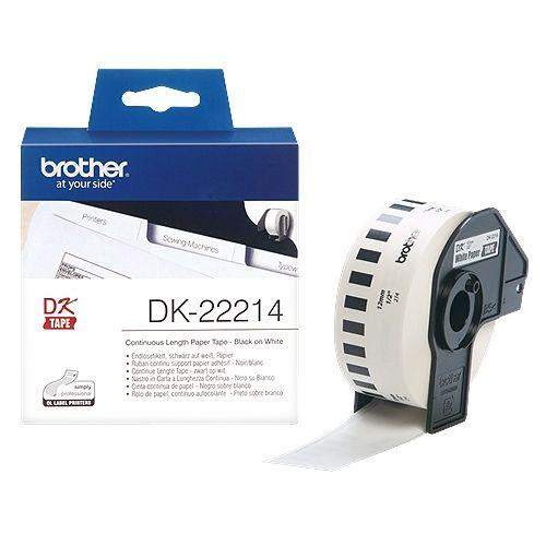 brother DK-22214, DK-Tape, 12 mm x 30,48 m
