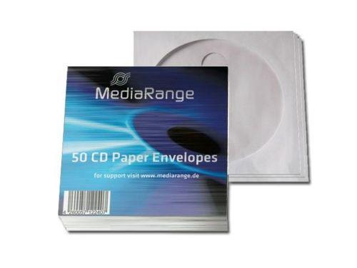 CD-Hüllen, 50 Stück, Papierfenstertasche, Klappe