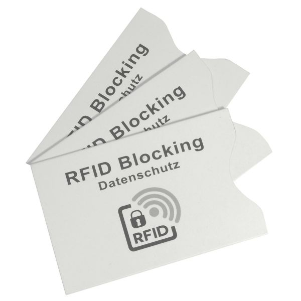 Schutzhüllen für Kreditkarten, 3er Set