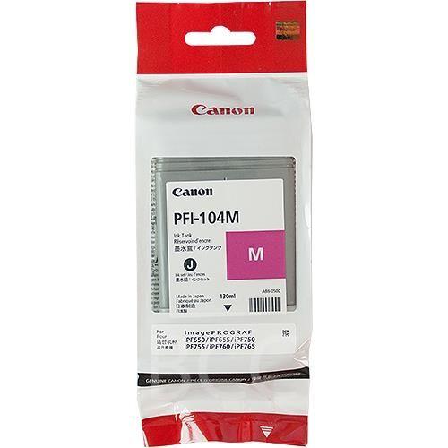 Original Canon Tintenpatrone PFI-104M