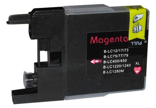 Druckpatrone für Brother, Typ BK1280M, magenta
