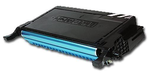 Toner XXL alternativ zu Samsung CLP-C660B / CLP-610/660   cyan  