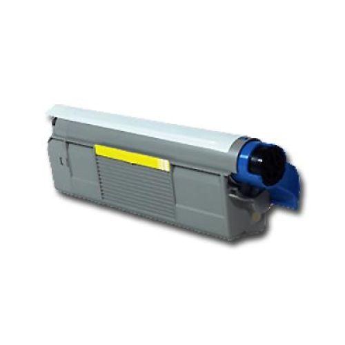 Toner OLC5600Y, yellow, Rebuild für Oki-Drucker, ersetzt 4332440