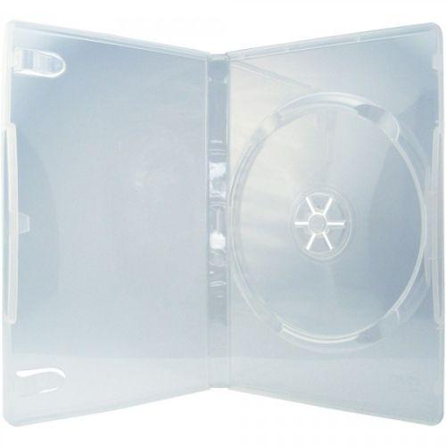 DVD-Hülle, 1 Stück, einfach, clear