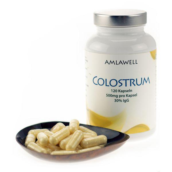 Amlawell Colostrum, 120 vegetarische Kapseln, 500mg
