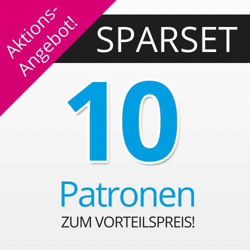 * 10 XL-Patronen Sparset: alternativ zu PGI550/CLI-551 CS550