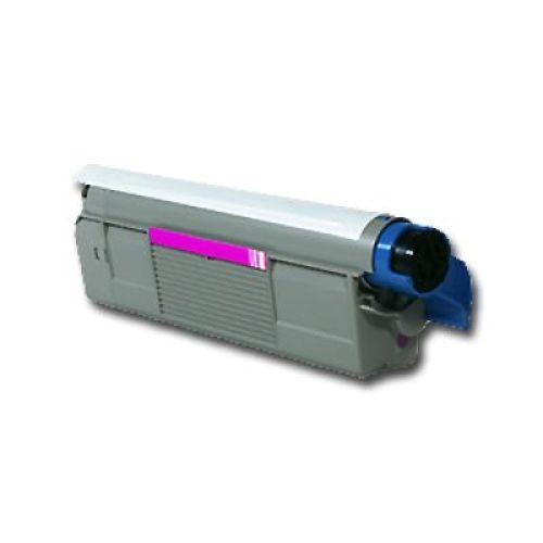 Toner OLC5800M, magenta, Rebuild für Oki-Drucker, ersetzt 433244