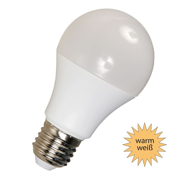 LED Birne E27, 10W, 806lm warmweiß