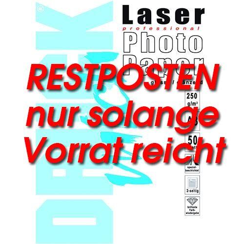 * Laser-Foto-Papier Din A3, 250g, glossy, doppelseitig 50 Blatt