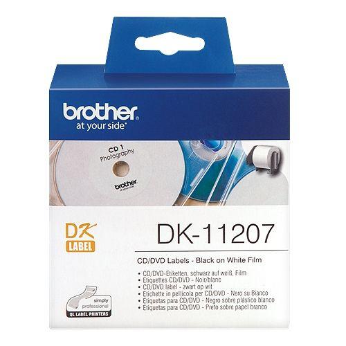 brother DK-11207, DK-Label, 58 mm, 100 St.