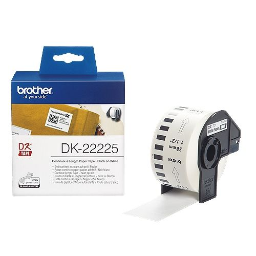 brother DK-22225, DK-Tape, 38 mm x 30,48 m