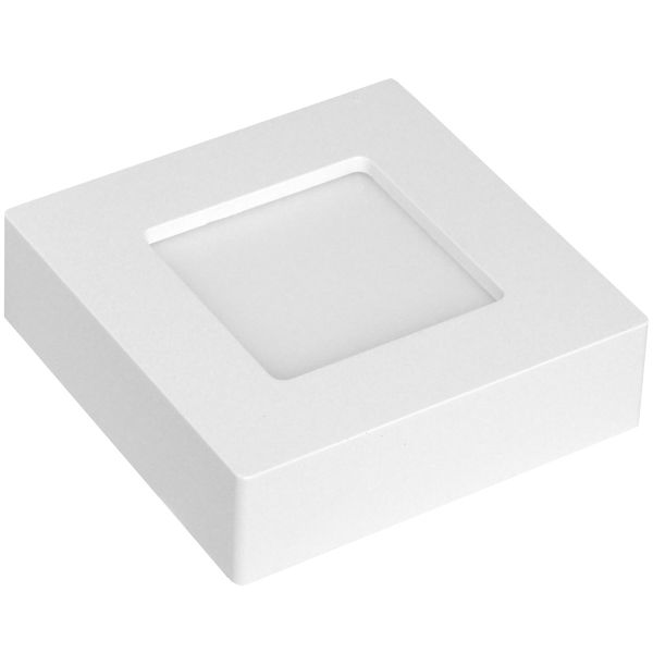 LED Aufbau-Panel eckig, 6W, kaltweiß, 230V~