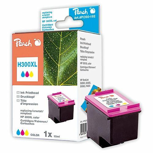 Peach Druckerpatrone PI300-192, kompatibel zu HP 300 XL color
