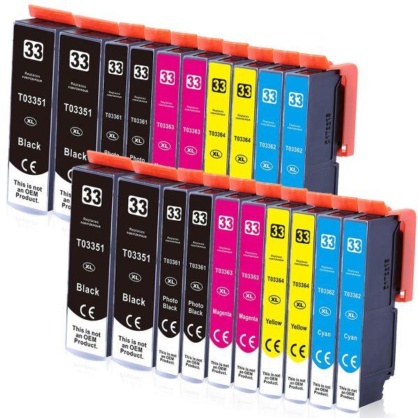 * 20 Patronen kompatibel zu T3351, T3361-T3364